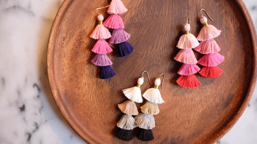 Must Have: Σκουλαρίκια Φούντες